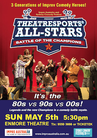 Theatresports All-Stars Poster