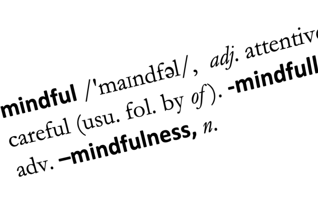 Mindfulness dictionary